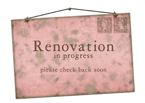 Web Renovation Sign